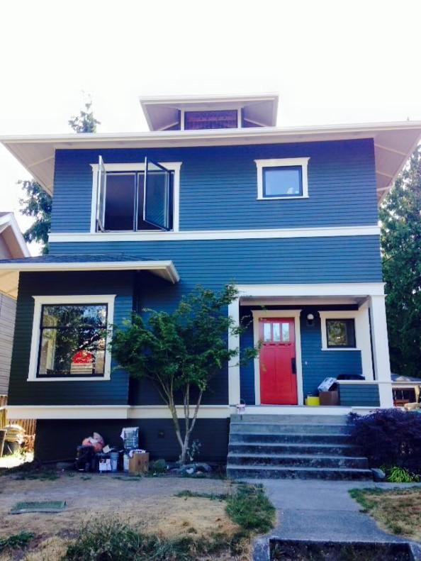 After major house remodeling
