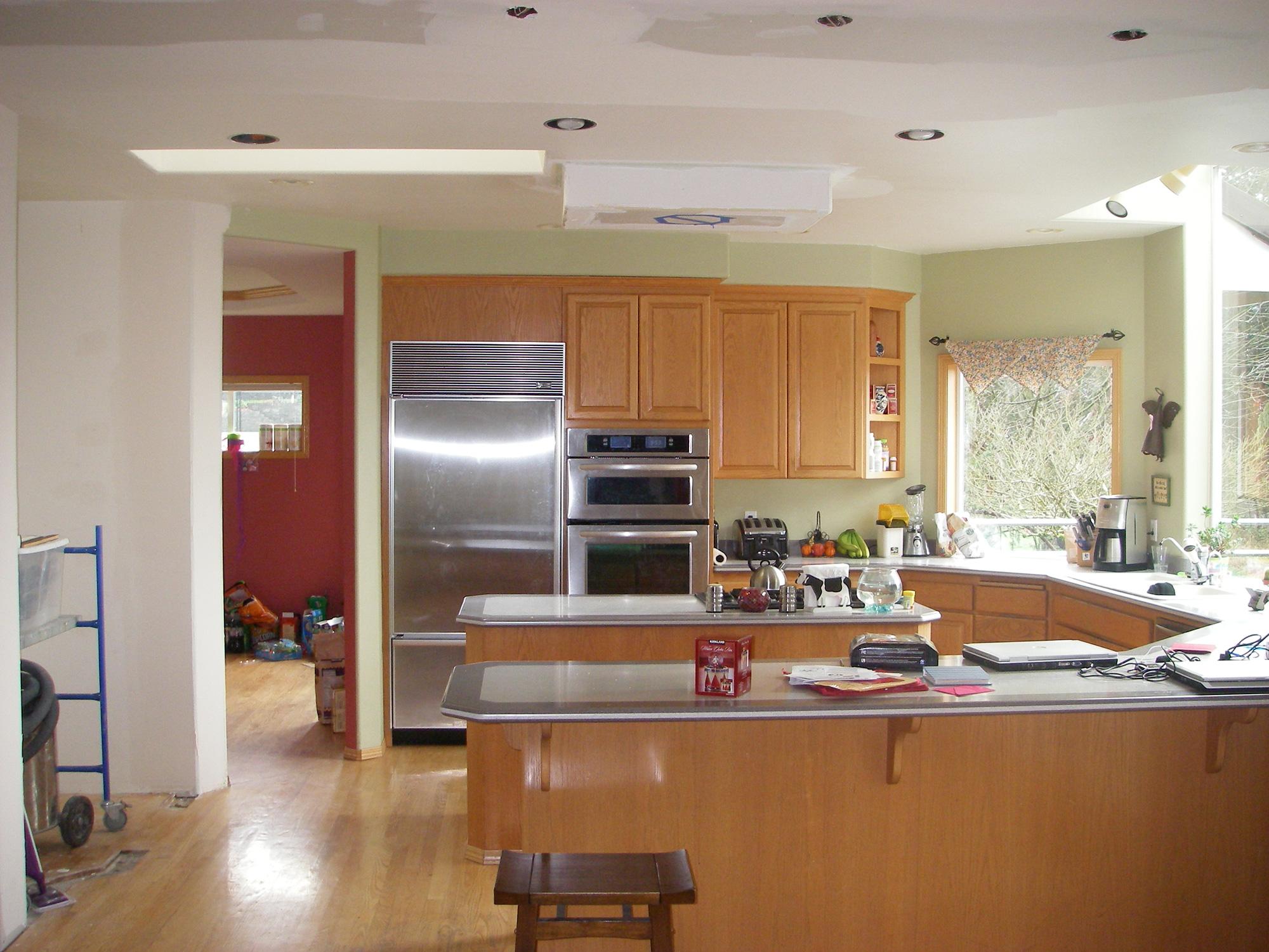 Before kitchen renovation