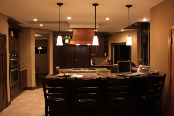Newly-Renovated Christensen Kitchen and dining area