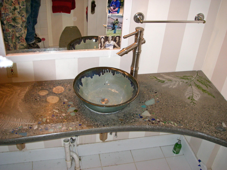 wash basin and countertop