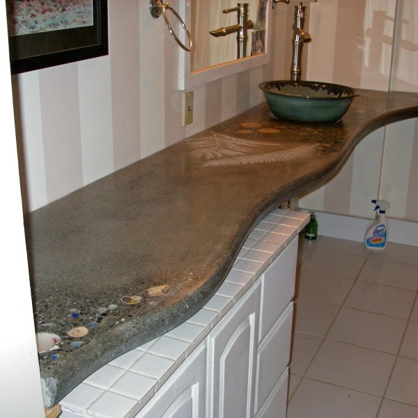 curvy countertop
