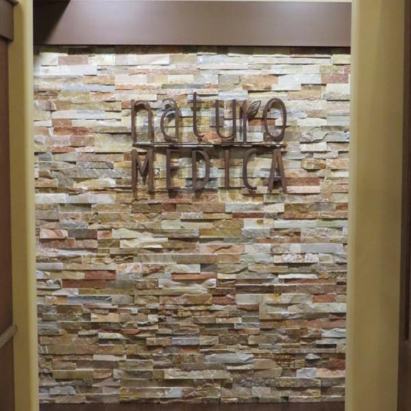 Naturo Medica Signange on wall