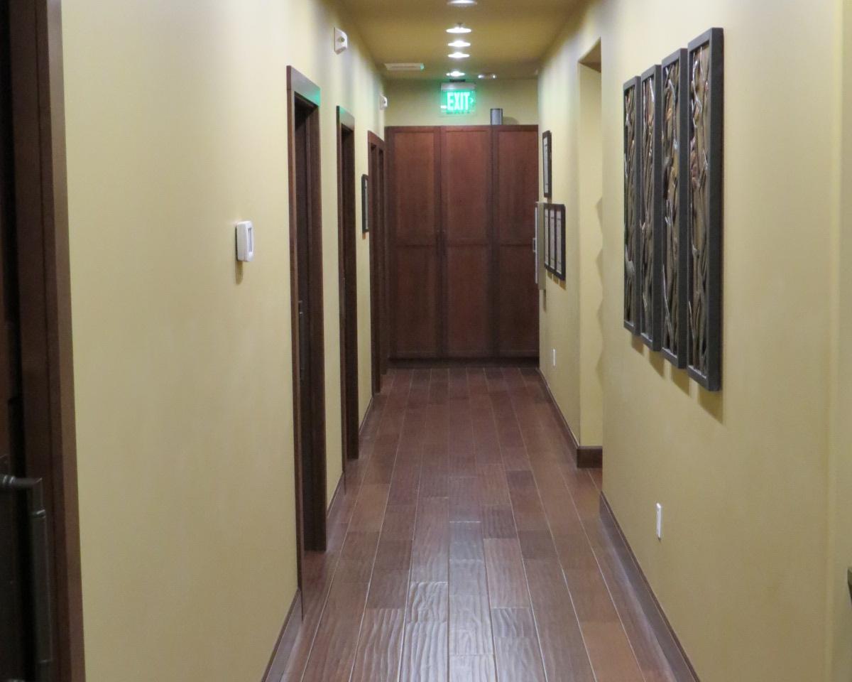 Hall at Naturo Medica clinic