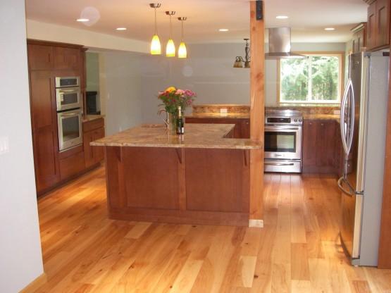 Newly-renovated Hayett Kitchen