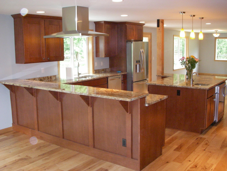 Newly renovated Hayett Kitchen area