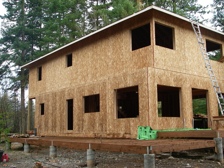 River House framing