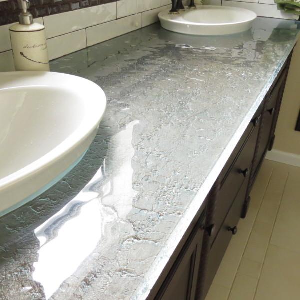countertop at the Smith Bath